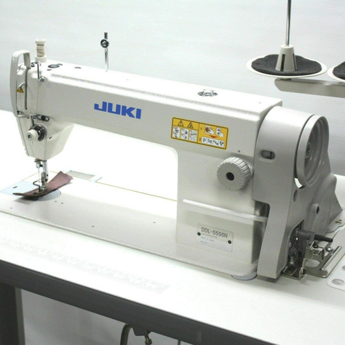 Juki DDL5550 Industrial Straight Stitch DDL-5550N Sewing Machine,Servo Motor,Made in Japan.Assembly required,DIY