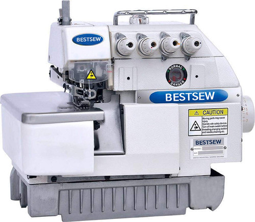 Bestsew B757A High Speed Five Thread Industrial Serger with Direct Drive Motor