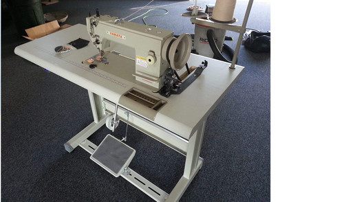 Yamata FY-0303 Leather Canvas Walking Foot Industrial Sewing Machine Table Servo Motor Led. Assembly Required.DIY