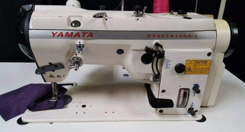 Yamata  3 Step Zig-Zag Lockstitch Reverse Industrial +Table+Motor+Assembly Required.