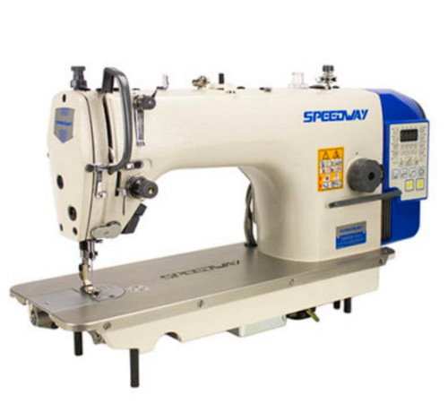 Speedway SW9000-D4 Lockstitch Direct Drive built in motor Industrial Sewing Machine Trimmer, Auto Lifter w/ Table.