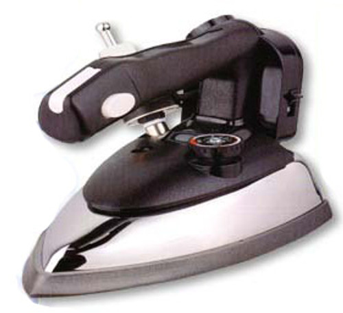 Steam Iron Gravity Feed GSI-8800 Combo +Iron Rest +Teflon Shoes+ Demineralizer