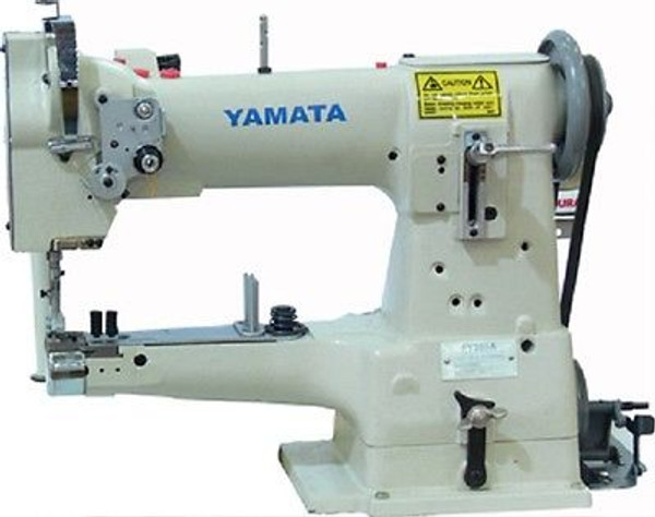 """Yamata FY335A 10"""" Arm Cylinder Bed Walking Foot Sewing Machine Stand+Servo motor"""