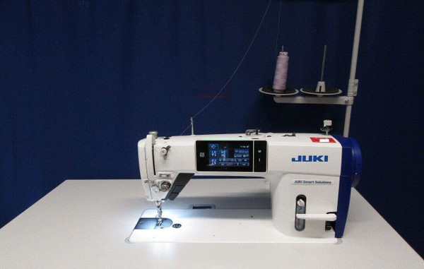 Juki DDL9000C-FMS Full Digital Tension, Pressure, Foot Lift, Trimmers, BackTack, Needle Pos, Stitch Length, FeedHeight, DirectDrive, Control Box, Table