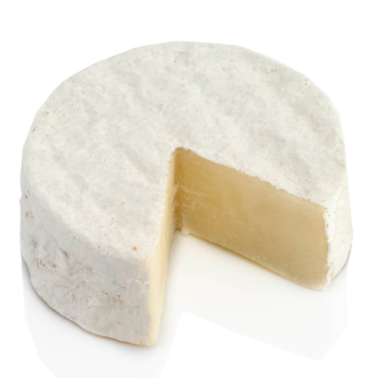 Fake Cheese Brie Wheel Slice Out Small