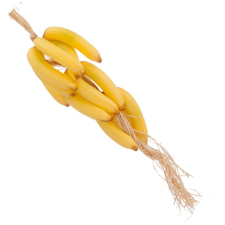 Fake Banana Bunch Garland