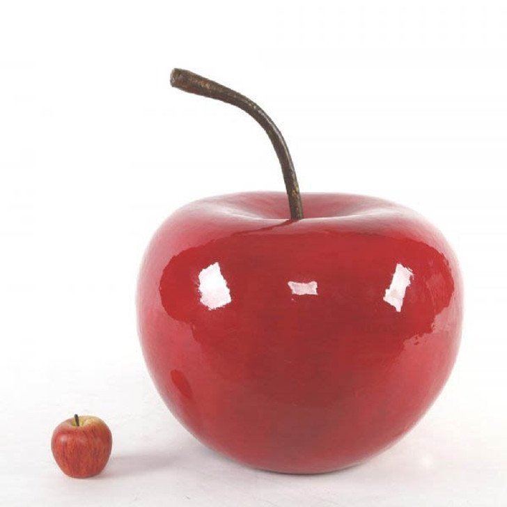 Giant Red Apple