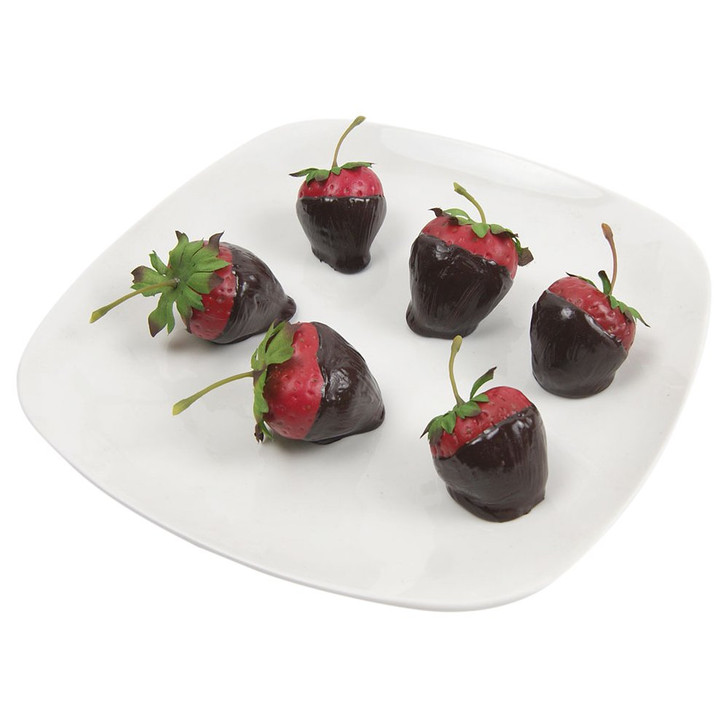 Strawberry - Chocolate Dipped - Plated