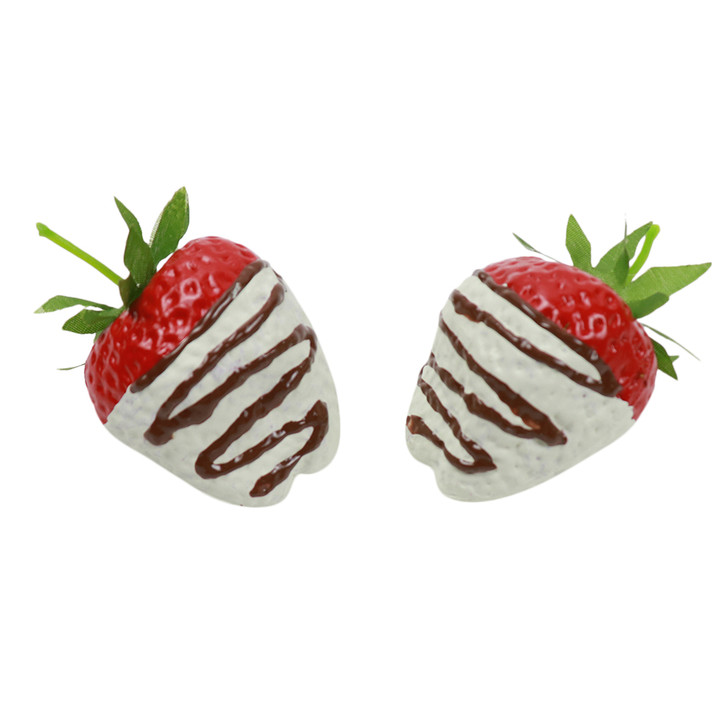 Strawberry - White Chocolate Dipped - 2pk
