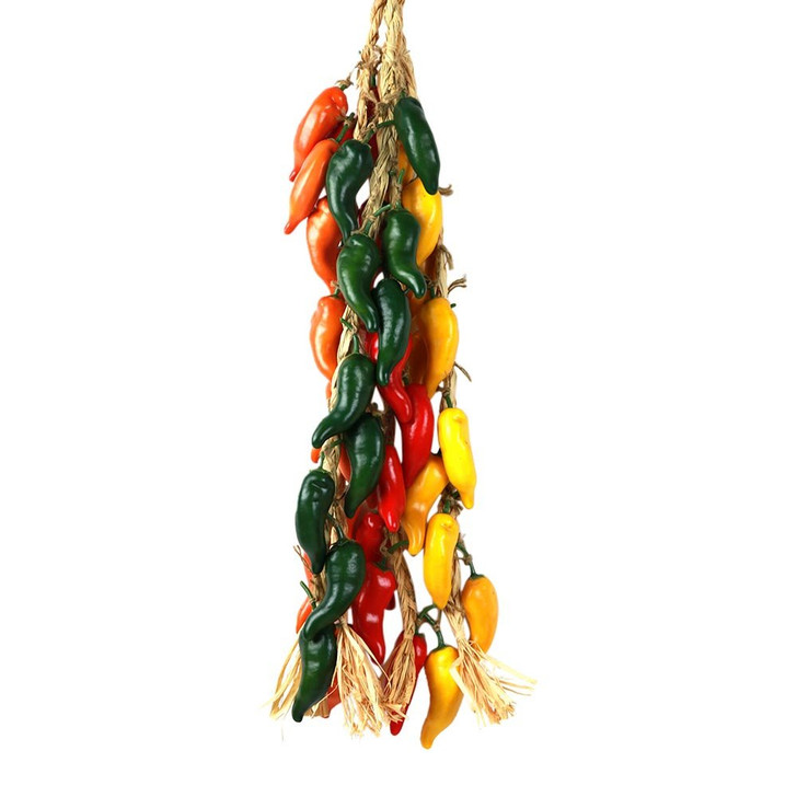 Assorted Set of 4 (Red, Green, Yellow & Orange) Gypsy Chili Strings (Buy the Set & $ave)