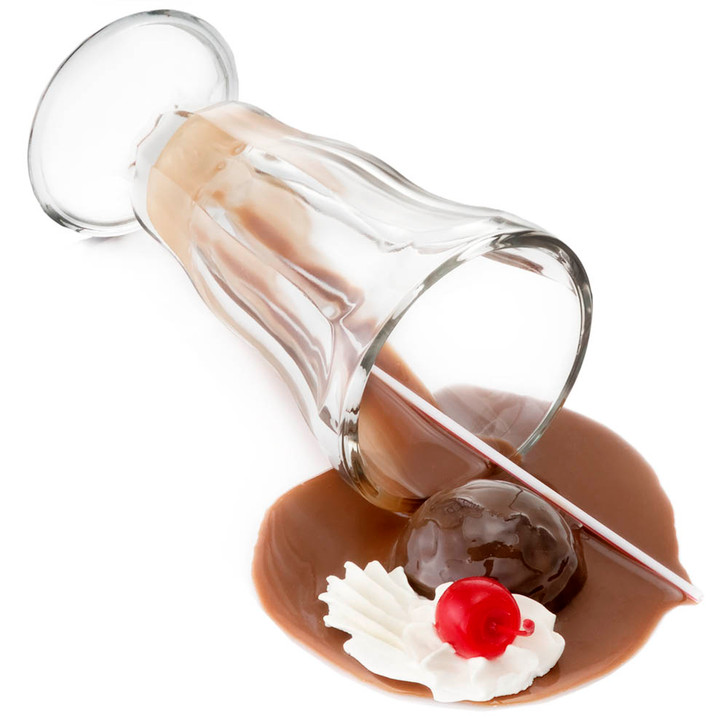Chocolate Shake Spill