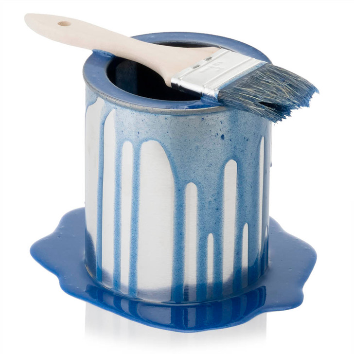 Paint Can - Blue - Spilled