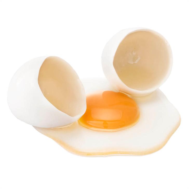White Egg - Cracked