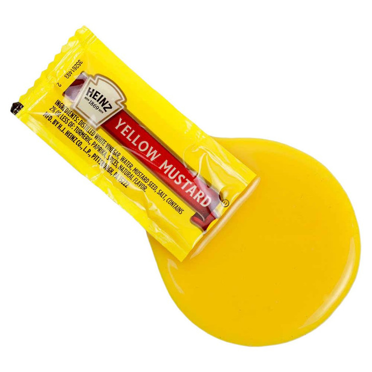 Seat Saver Mustard Pack Spill