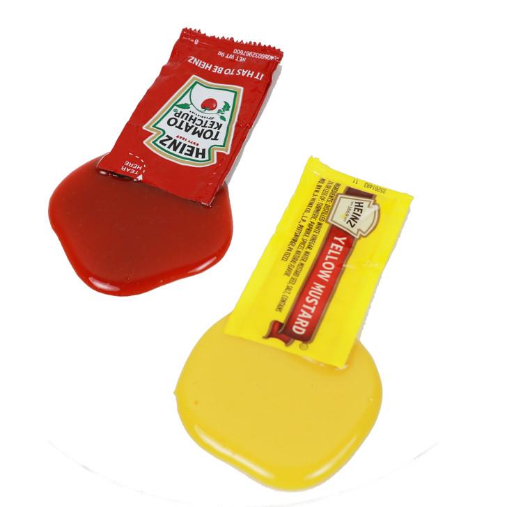 Seat Saver Spill Mustard & Ketchup Assortment