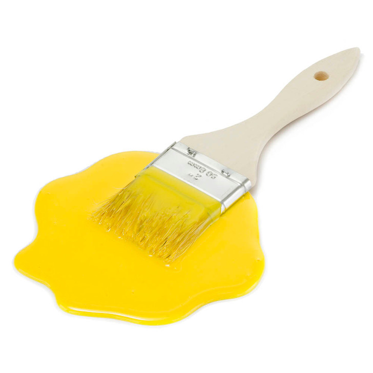 Yellow Brush Spill