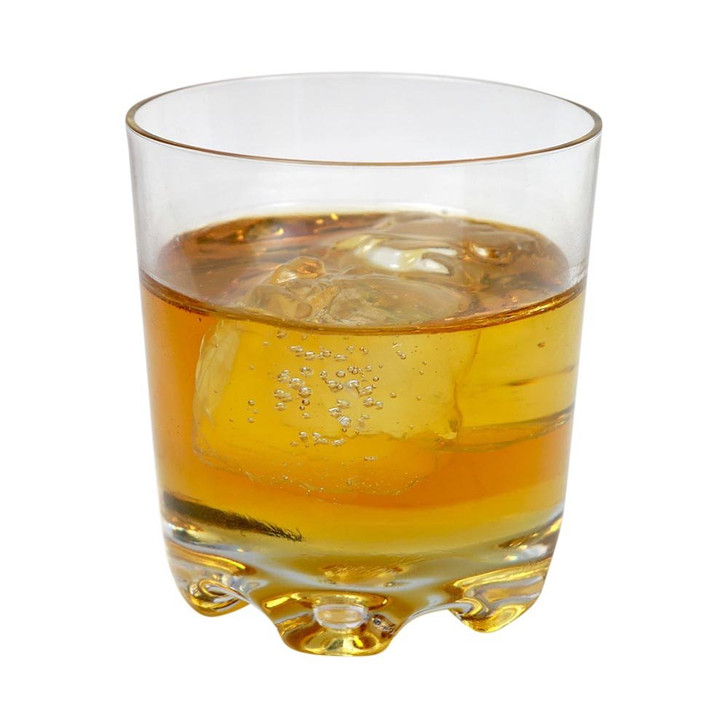 Glass of Scotch Whiskey on the Rocks