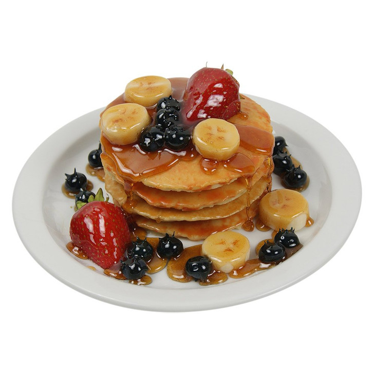 Pancake Plate with Fruit