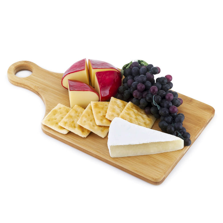 Cheese Board - Edam And Fruit