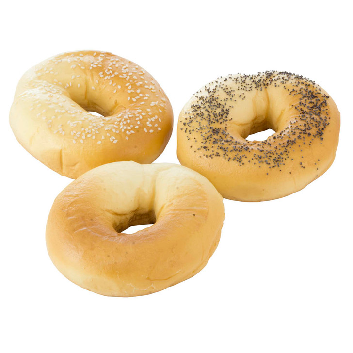 Assorted Bagels (pk Of 3)