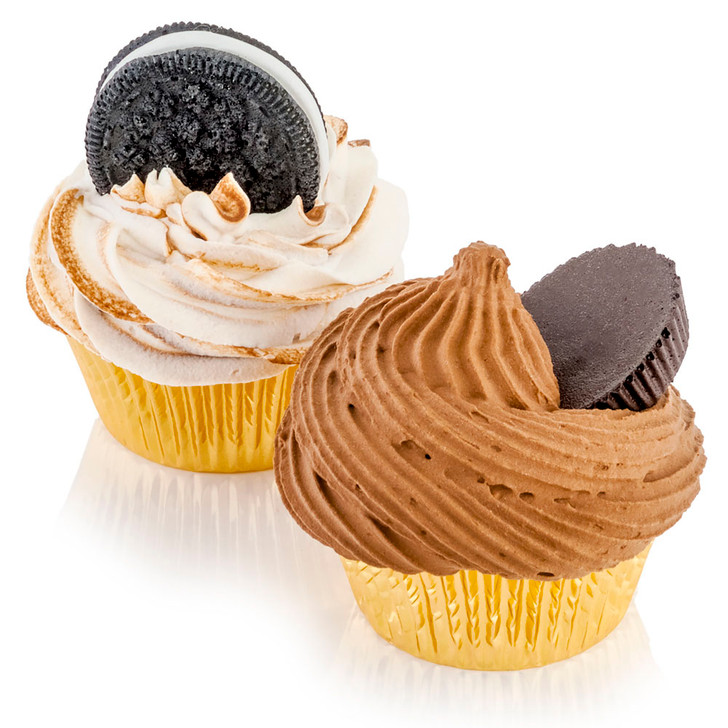 Assorted Deluxe Chocolate Cupcakes Set of 2