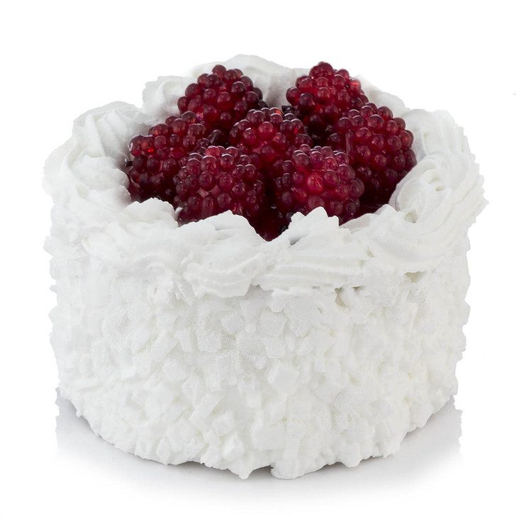 Cake - Small Gourmet With Raspberries
