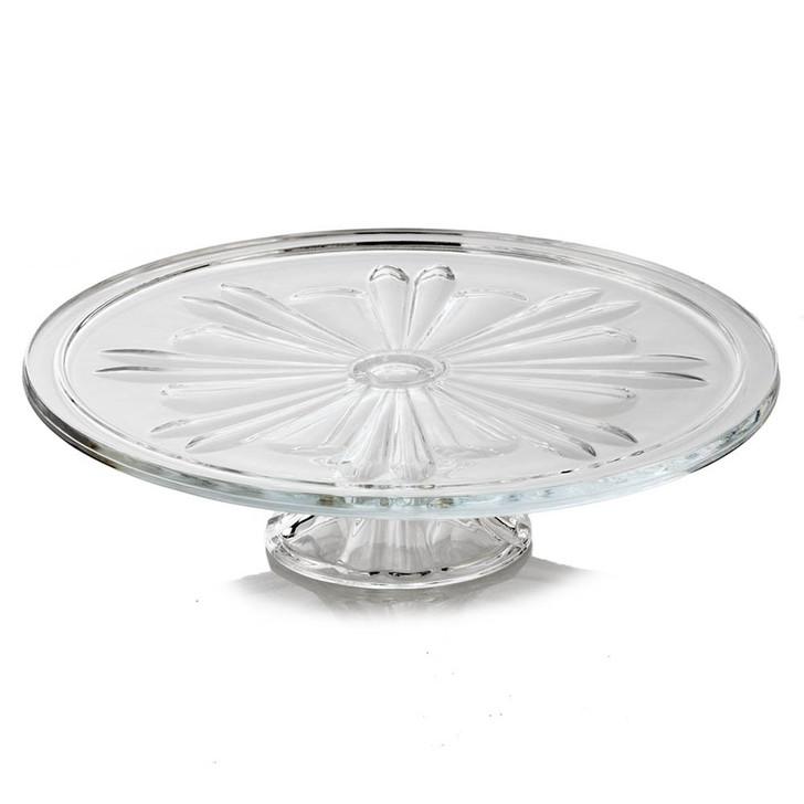 Decorative Vintage Glass Pedestal Cake Plate
