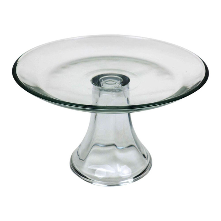 Glass Pedestal Cake or Pie Holder