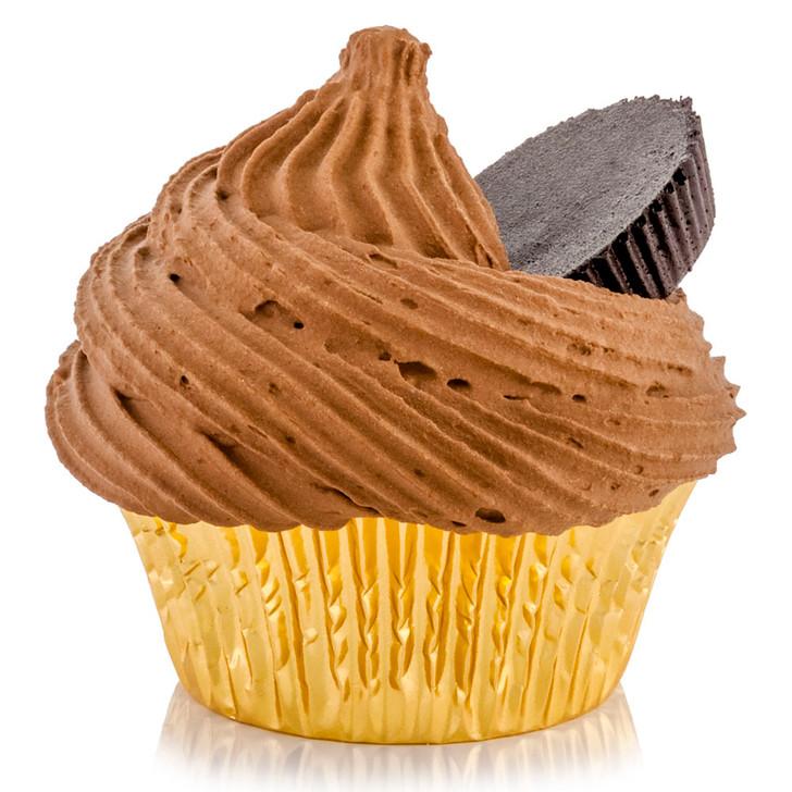 Peanut Butter Cup Chocolate Cupcake