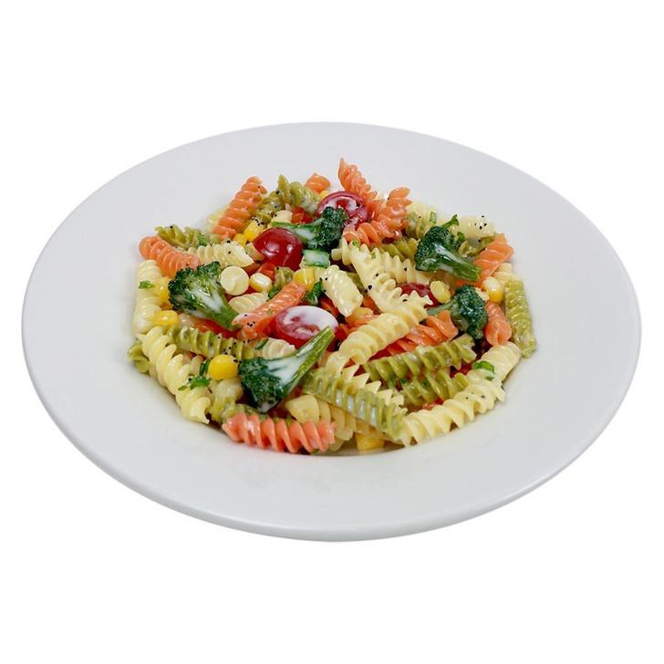 Tricolor Rotini Pasta Dish