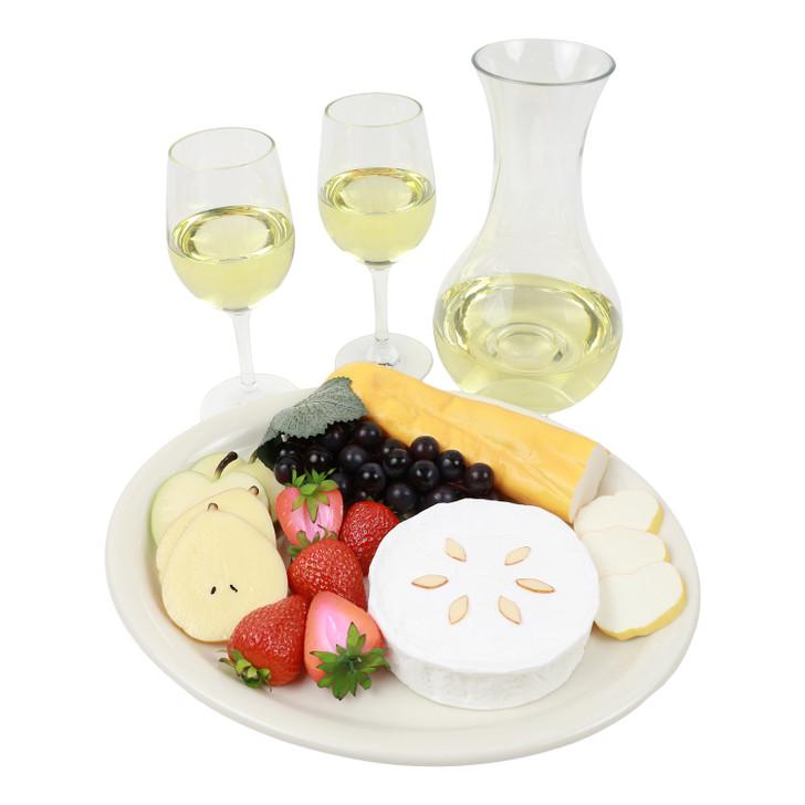 White Wine And Fruit Cheese Assortment