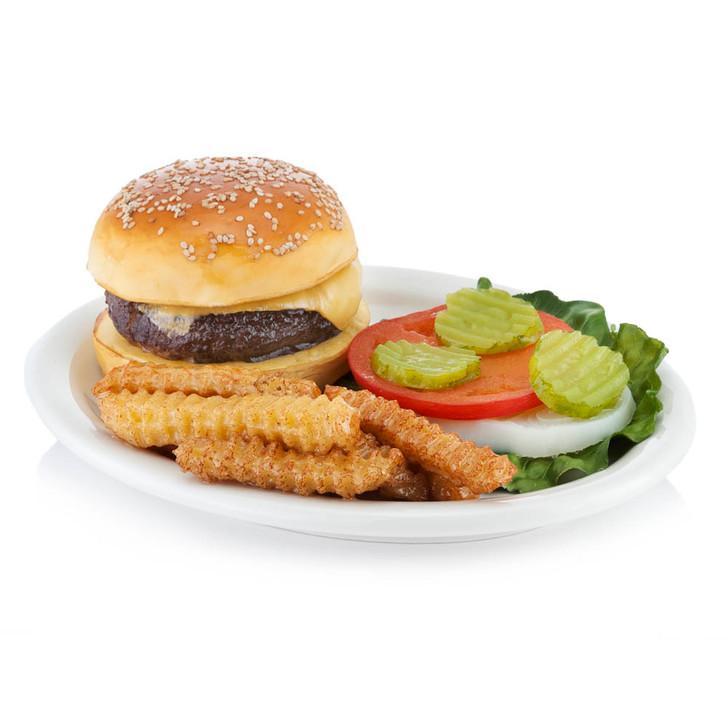 Cheeseburger - Plate