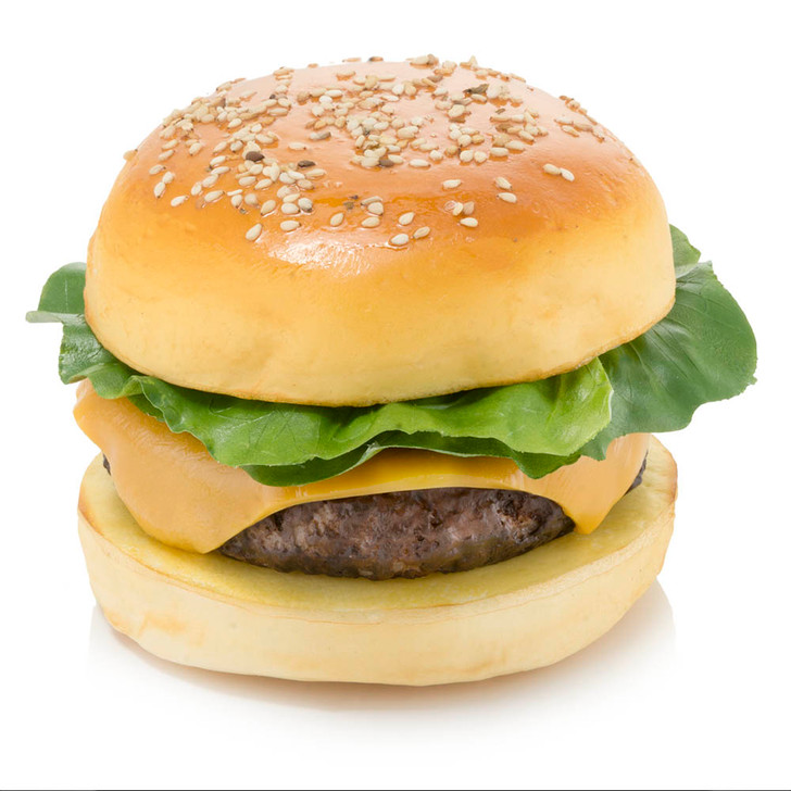 Cheeseburger On Bun