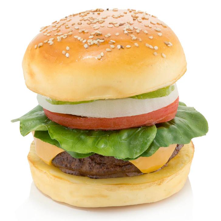 Deluxe Cheeseburger On Bun
