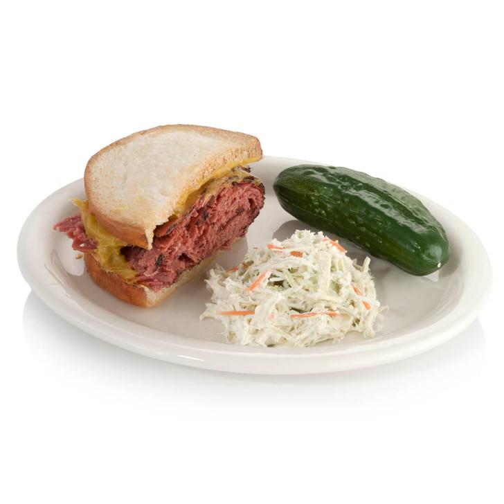 Half Corned Beef Sandwich Plate