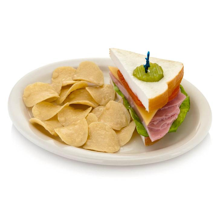 Half Sandwich with Chips