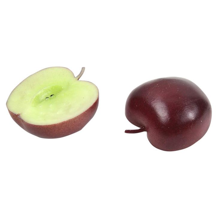 Play Red Apple Half (Set of 2)