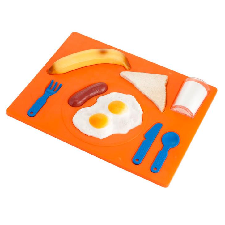 3D Breakfast Puzzle