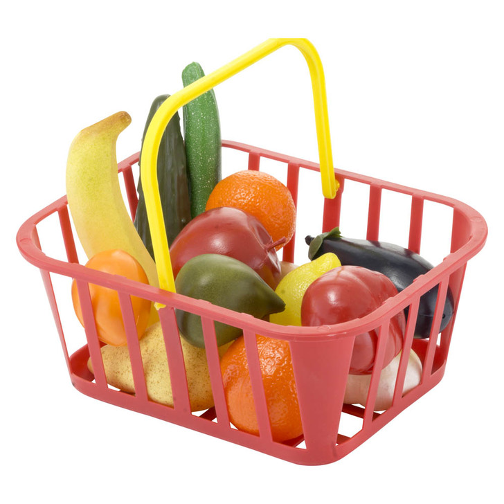 Kiddy Fruit & Vegetable Combo Basket - 14 Pc