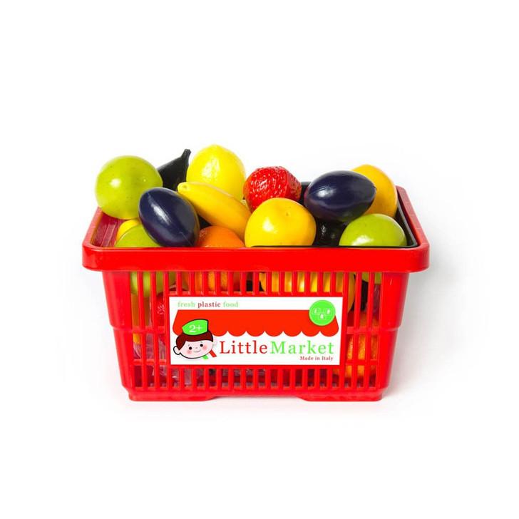 SHOPPING BASKET SMALL FRUITS ASST. 27 pieces