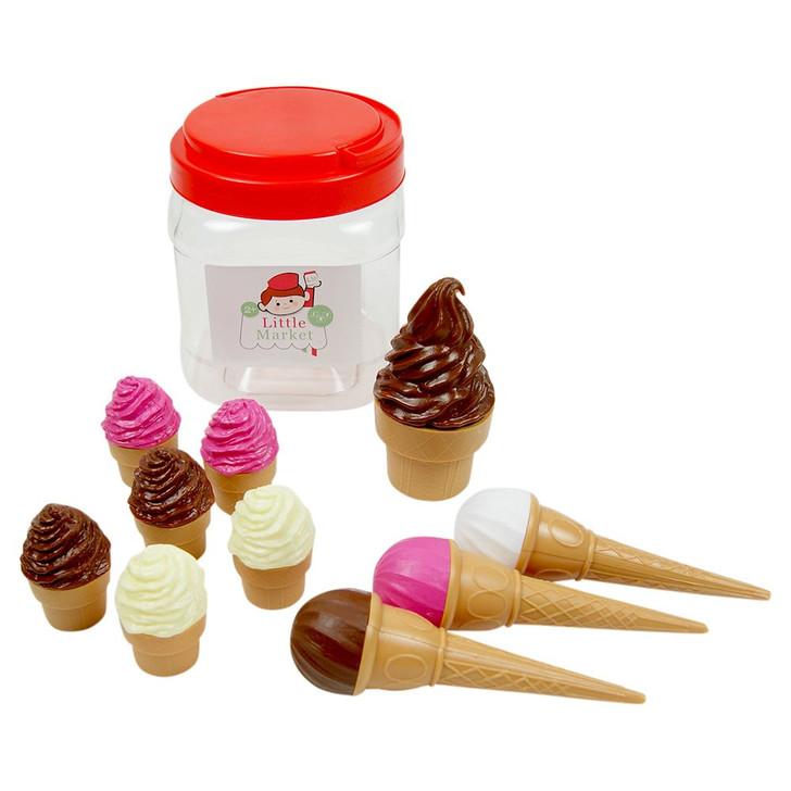 ICE CREAM JAR 10 piece Set