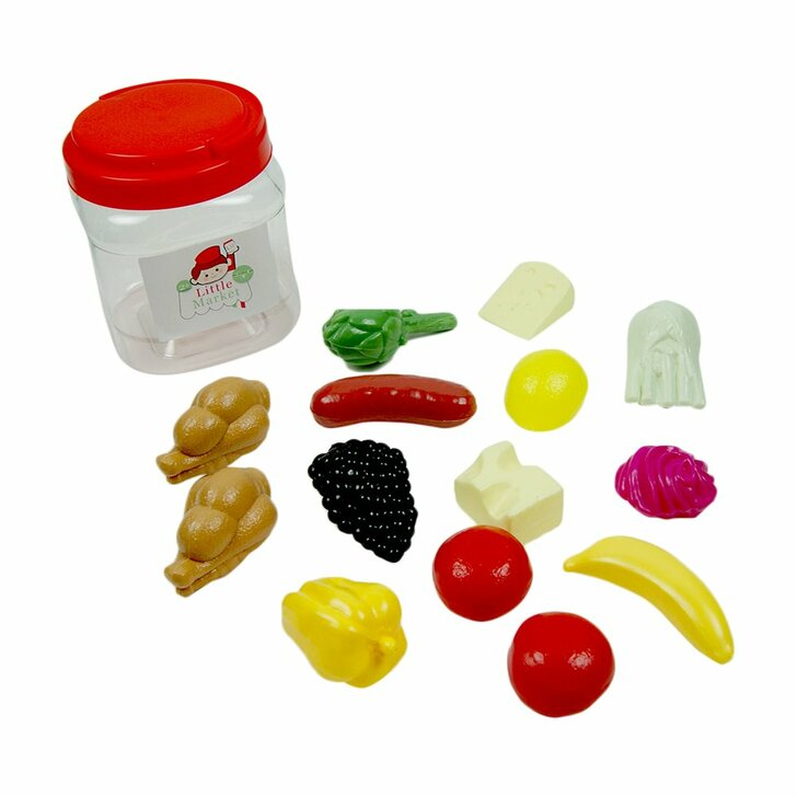 MIXED FOODS JAR 14 piece Set
