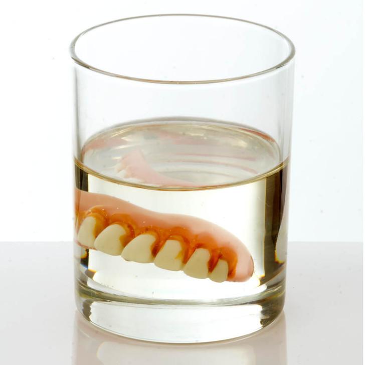 Glass Of Dentures