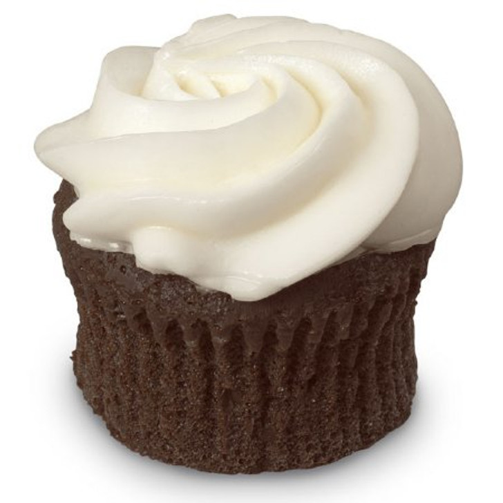 Fake Chocolate Frosted Cupcake