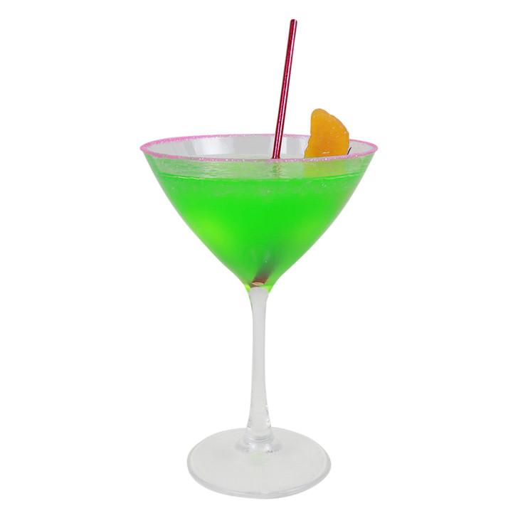 Realistic Fluorescent Midori Melon Martini
