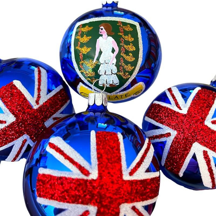 British Virgin Islands Flag Ornament