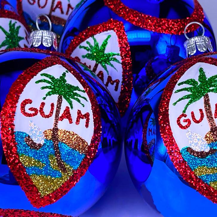Guam Flag Ornament