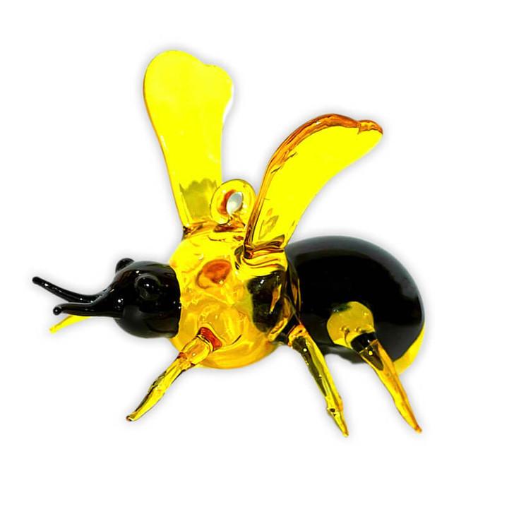 Queen Bee Glass Ornament Bullarum