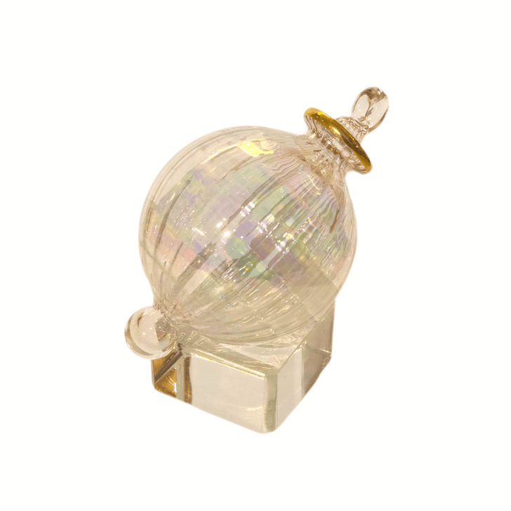 Crystalline Luster Rainbow with Crystal Cube