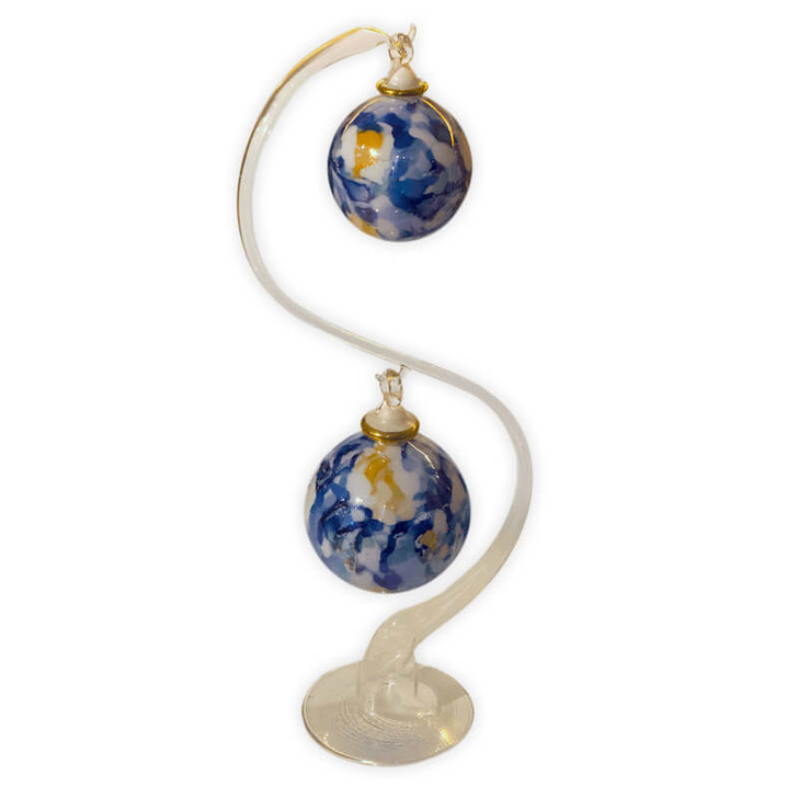 Marble Blue Duo Set